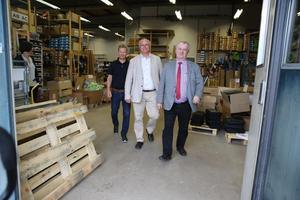 Landsbygdsminister Sven-Erik Bucht fortsatte sin Sverigeresa efter tre företagsbesök i Älvdalen på onsdagen.