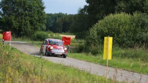 Hans-Åke Söderqvists Mini Cooper S av 1968 års modell. Foto: Team Söderqvist