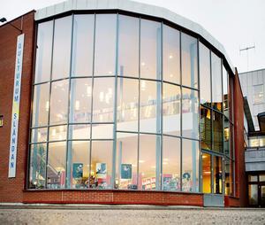 De flesta kulturprogrammen i Nykvarn hålls i Qulturum Sländan. Foto: LT:s arkiv