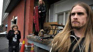 Mikael Åkerfeldt, Joakim Svalberg, Martin Axenrot i metalbandet Opeth.