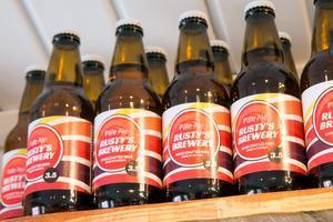 Matt Wilkes egenbryggda öl.