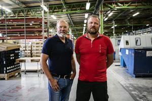 Joakim Falk och Jens Forsberg.