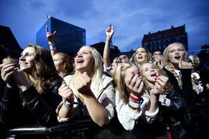 Så kom avskedskonserten 2011, som avslutade en 10-årig kärleksrelation mellan den jämtländska publiken och det småländska bandet. Foto: Anna-Karin Landin.