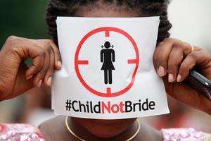 Inga barnäktenskap ska accepteras. AP Photo/Sunday Alamba/TT