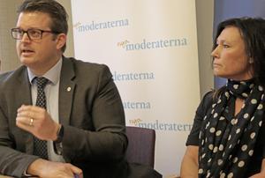 Liberalernas Karolina Wallström och Moderaternas Anders Åhrlin uppmanar Centerpartiet och Kristdemokraterna att satsa på ett samarbete inom Alliansen för att styra Örebro efter höstens val.