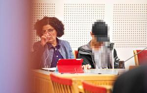 Den då 17-årige pojken under häktningsförhandlingen
