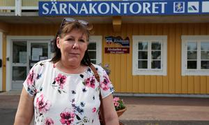 Lis Karlsson arbetar på Älvdalens kommuns Särnakontor som tillsvidare har jouröppet.