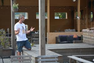 Jerry Engström är nöjd med årets anstormning av turister.