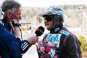 Kusken Ulf Ohlsson, bäst i Sverige, är en stor förebild för Rikard.Bild: Arkiv