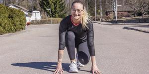 Fagerstabon Lina Gullblom ska ta sig an New York-Marathon i november.