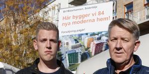 Richard Hasselgren är besviken på Peab. Pappa Anders vill att Peab kompenserar sin son på något sätt.