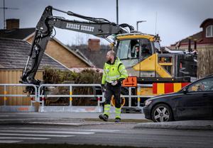 I börja på april satte de förberedande grävarbetet för BRT-projektet i Örebro igång.