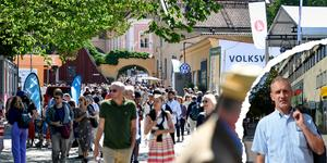 Liberalernas gruppledare Stefan Falk reagerar mot att kommunen skickar nio personer till Almedalen.