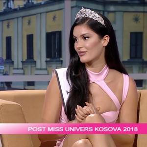 Sedan vinsten i Kosovo har hon haft fullt upp med intervjuer och förberedelser inför Miss World finalen i Kina. Foto: Rreze Dautaj