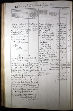 Från Långholmen, anteckningar om Nordlunds fängelsevistelse.