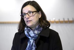Anna Ekström (S) är Sveriges utbildningsminister. Foto: Mats Andersson