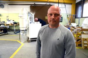 Nu har Roberto Granberg en lokal i Ludvika, men blir det som planen är, så måste han snart ha större lokaler.