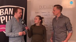 Christoffer Million, Jonna Igeland och Andreas Tagg diskuterar VM-truppen.