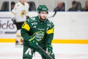 Kevin Goumas gjorde bara åtta matcher i Löven-tröjan. Nu förklarar sportchefen Fredrik Grönberg varför de valde att bryta. Bild: Johan Löf.