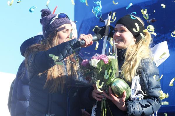 Maja Lind vann bilen.