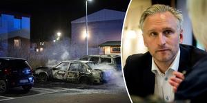 – Jag tycker att det är fruktansvärt tråkigt. Man förstår ganska så snabbt den ilska som man känner, om jag vore småbarnspappa i Sätra och hittade min bil utbränd och ska försöka klara mitt livspussel, säger Jörgen Edsvik, S.