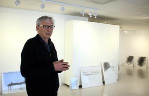 Museimannen Bengt Svensson har också länge varit verksam som konstnär.