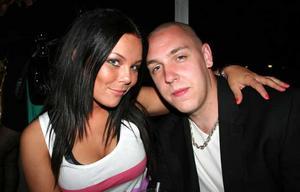 Blue Moon Bar. Jannica och Dennis