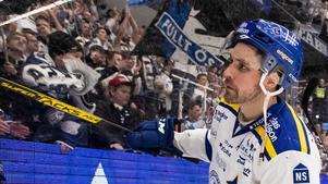 Johan Fransson utsattes för flera påhopp på sociala medier i samband med Leksands segermatch mot Linköping. Foto: Daniel Eriksson/Bildbyrån