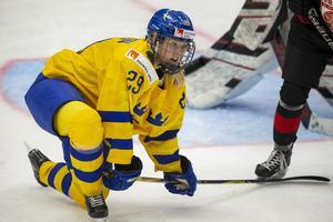 Carlsson var med och åkte ur A-VM med Sverige i våras. Bild: Tomi Hänninen/Newspix24/Bildbyrån