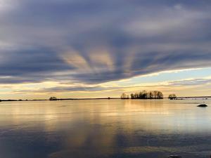 Lars Göran Nyberg fångade ett skönt vinterljus när han tog den här bilden i början på januari.