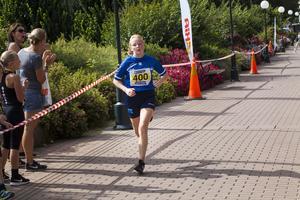 Nina Andersson, Söderhamns innebandyförening, var snabbast på 2,5 kilometer.