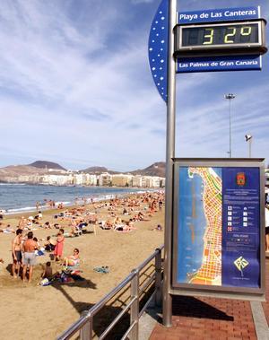 Las Palmas på Gran Canaria.