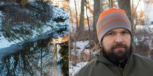 Sagån har valts ut till ett projekt som ska motverka övergödning. Enligt Viktor Kärvinge är det erosion och en dålig struktur i marken som bidrar till övergödningen i Sagån.