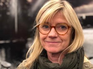 Karin Wistrand på en mer aktuell bild.