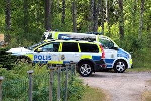 Flera polispatruller deltog i sökandet efter den förrymde Kastellanoss.