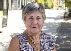 June Åhlund, 63 år, pensionär, Sundsvall