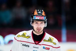 Rasmus Rissanen siktar på spel mot Brynäs. Bild: Andreas Sandström/Bildbyrån