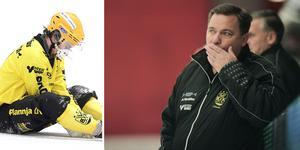 Patrik Johansson var inte nöjd över Vetlandas insats på onsdagen.