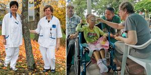 Under 17 dagar var Ulla Göthe och Gladys Diaz i El Salvador där de provade ut glasögon till den fattiga befolkningen.
