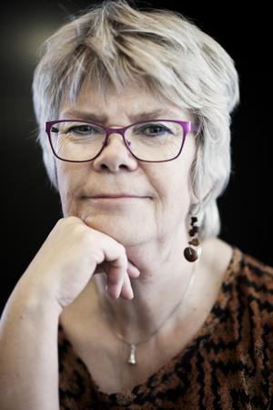 Annika Sjögren är redan i gång med nästa roman. Foto: Frida Sjögren/Ordfront