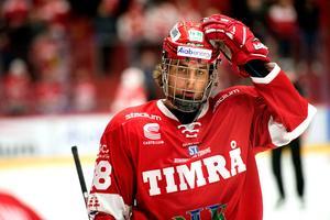 Olofsson har levererat tio poäng i Hockeyallsvenskan den här säsongen.