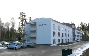Attendos nybyggda äldreboende i Hovsjö.