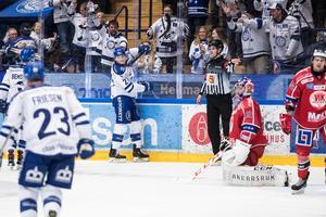 Leksand besegrade Västervik för tredje gången den här säsongen under fredagen. Foto: Daniel Eriksson/BILDBYRÅN