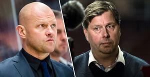 Andreas Johansson till LIF? Nu har båda herrarna på bilden kommenterat ryktet. Foto: Bildbyrån//TT
