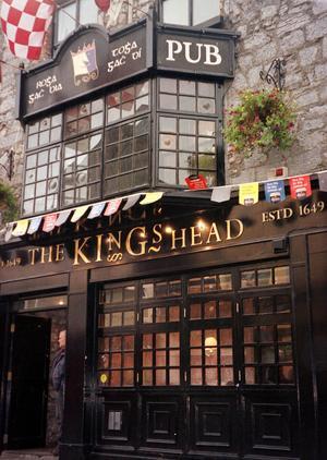 The King's Head Pub, i Galway. En miljö som Kramfors har svårt att matcha. Foto: TT
