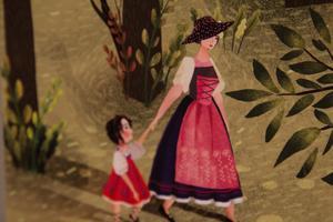 Detalj ur en av Runak Resulpurs fina digitala illustrationer.