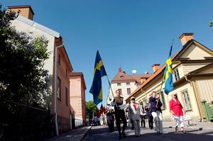 Kulturpris och stipendier delas ut i samband med nationaldagsfirandet i Nora.Bild: Arkivfoto/Pia Gyllin