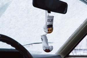 När det kommer till musiken håller Erica den gamla rockikonen Elvis kär. Han hänger med i bilen i form av ett par boxningshandskar.