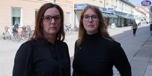 Camilla Runerås (S) och Ulrika Spårebo (S) kräver anständiga scheman och trygga anställningar för kommunens vårdpersonal.