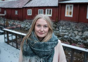 Emma Turesson drömmer om att någon gång flytta till Östersund.
